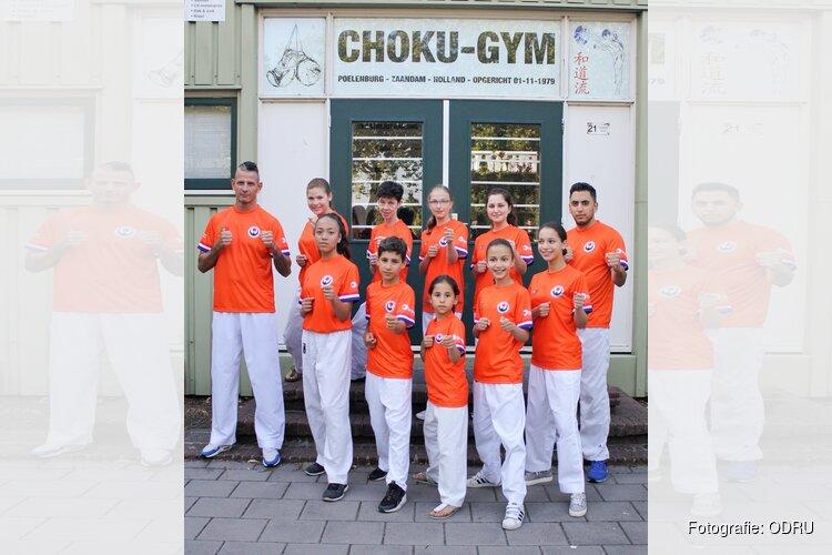 Karateka's van karateschool Choku Gym enthousiast voor Europees Kampioenschap