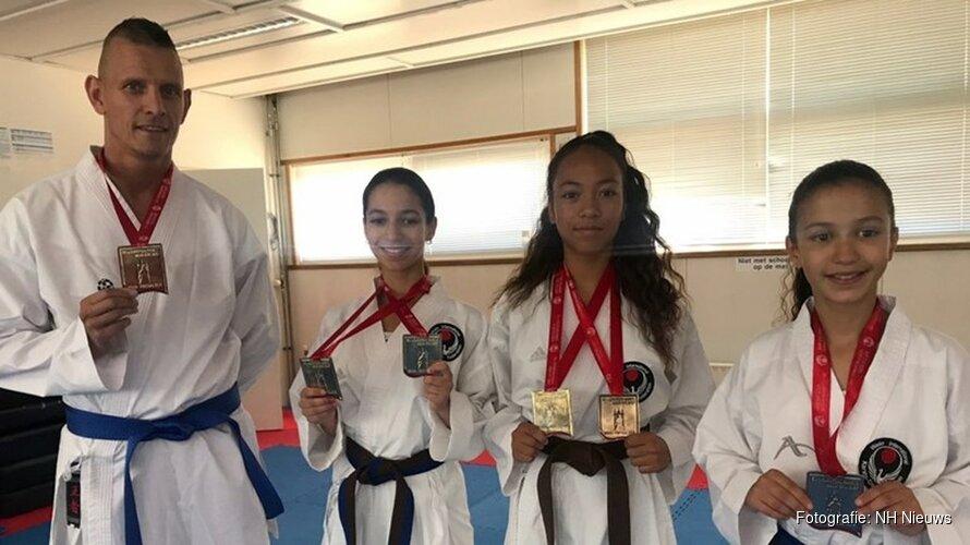 Poelenburgse karatekids leveren topprestaties op EK Karate