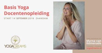 Basis Yoga opleiding met Zaanse zakenvrouw van het jaar Myrna van Kemenade