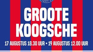 "Zaanse clubs strijden komend weekend om ""Groote Koogsche"""