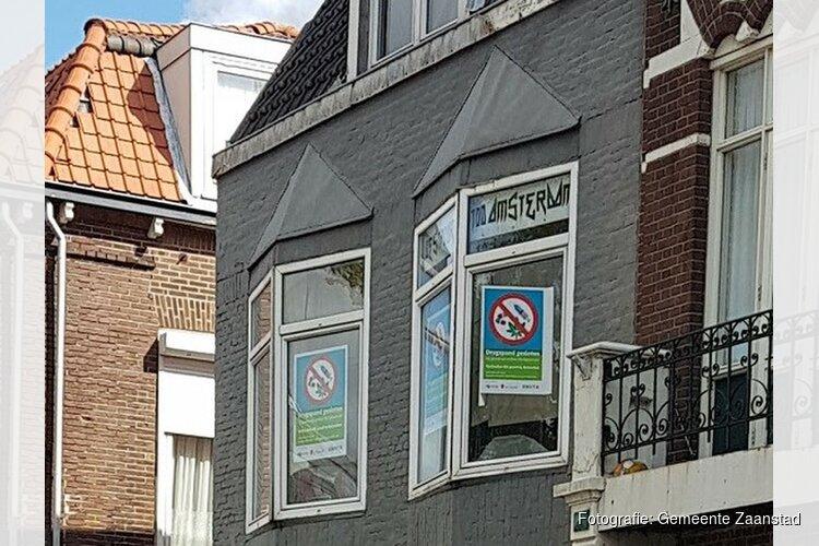 Woningen in Koog aan de Zaan en Zaandam gesloten vanwege wietplantages