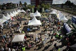 Volksuniversiteit Zaanstreek in de TIPI tijdens de Zaanse Uitmarkt