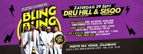 BLINGBLING XL met Dru Hill & SisQo in North Sea Venue