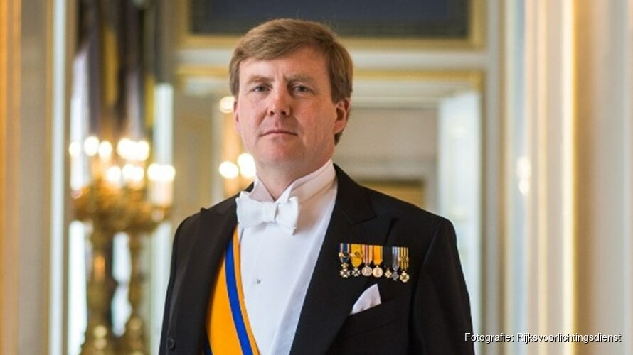 Koning bezoekt Stichting De Tijdmachine in Zaandam
