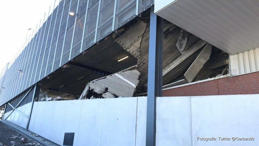 DekaMarkt Wormerveer nog zeker twee weken dicht na instorten parkeergarage