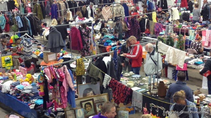 Gezellige vlooienmarkt sporthal Wormer zondag 11 november