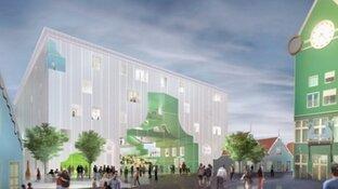 D66 wil nieuw 'iconisch' gebouw voor Zaandam, ook nu Cultuurcluster van de baan is