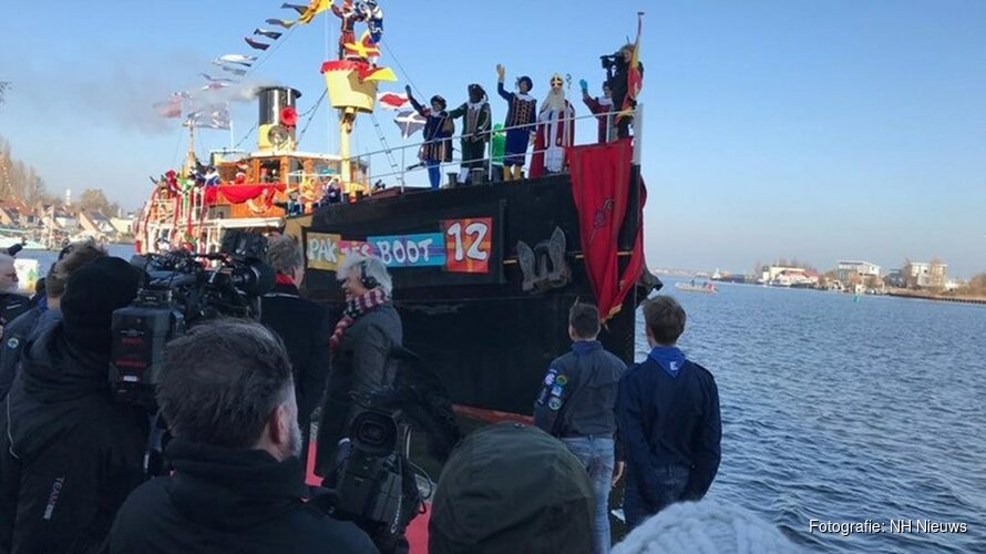 Sinterklaas is aangekomen in Nederland!