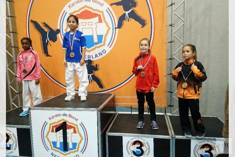 Uitslagen Choku-Gym op de Nederlandse Kampioenschappen Karate 2018