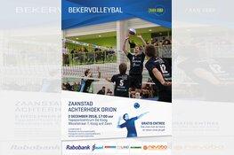 Bekerwedstrijd Zaanstad-Orion op zondag in De Koog