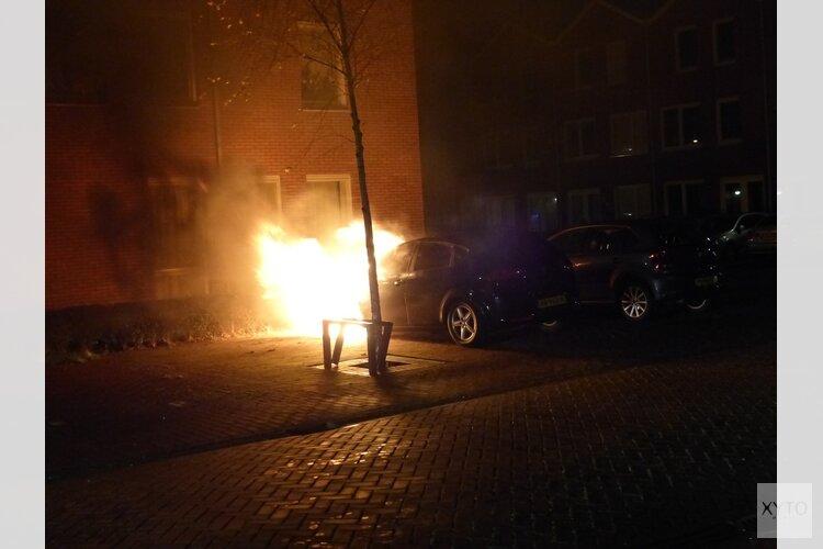 Autobrand in Wormerveer