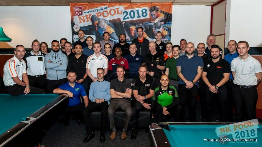 Nederlands Kampioen 9-Ball 2018: Nick van den Berg