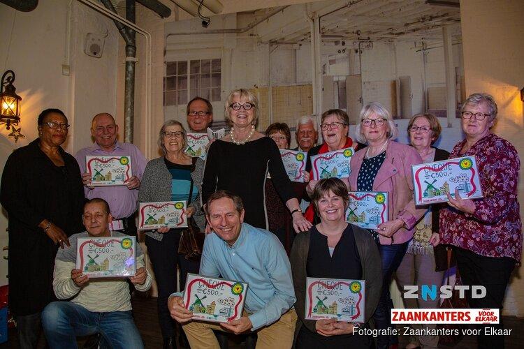 Hartverwarmend vrijwilligersfeest: Zaanse vrijwilligers in Proeverij de Koekfabriek