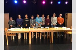 Première van de voorstelling 'De Verhuizing' door theatergroep Odion/FluXus