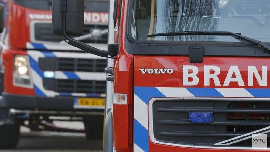 Auto spontaan in brand bij station Zaandam(video)